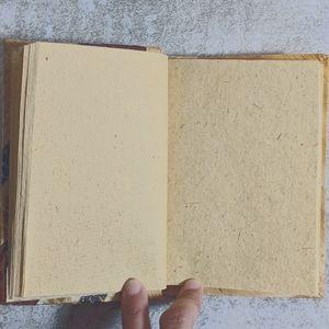 Grand Turk Natural Leaf Mini Notebook